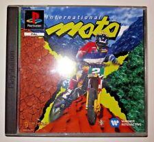 jeux playstation 1 PS1 international moto x  avec notice bien complet TBE