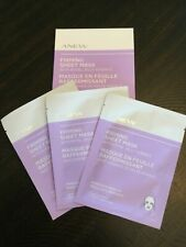 AVON ANEW Firming Sheet Masks Lot of (3) Single-Use Masks Immediate Results
