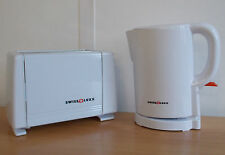 Electric Low Watt 1L Swiss Luxx Compact Kettle AND Toaster Caravan 240v mains