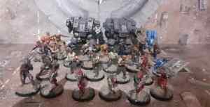 Figurines Infinity Corvus Belli Faction Nomads, Bakunin, Corregidor, Warhammer