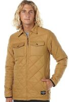Men's Billabong Shelter Quilted Winter Jacket / Parker, Size L. NWT, RRP $149.99