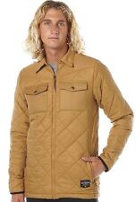 Mens Billabong Shelter Quilted Winter Jacket / Parker, Size XL. NWT, RRP $149.99