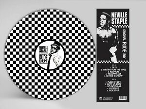 **AUTOGRAPHED** 2TONE SKA PICTURE DISC FROM THE SPECIALS RUDE BOY NEVILLE STAPLE