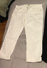 850ce58a26 J. Crew Slim Broken In Boyfriend White Denim Jeans Size 30