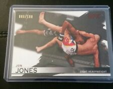 #/188 Jon Bones Jones Silver Gray Parallel Card 2010 Topps UFC Knockout