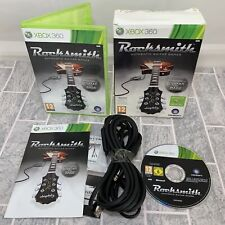 Rocksmith Xbox 360 with Real Tone Cable Complete Disc in Immaculate Condition.