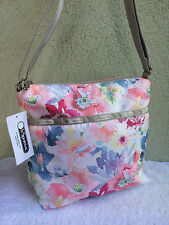 New LeSportsac Small Cleo Waterlily Garden Floral Crossbody Bag
