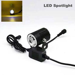 ATV UTV Truck Front Bumper Fog Lamp A-pillar Laser Headlight Car LED Spotlight