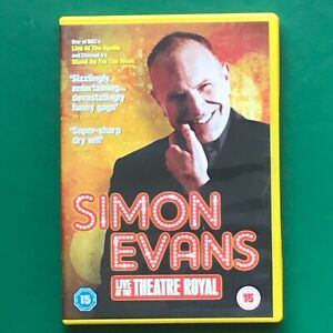 Simon Evans Live At The Theatre Royal DVD (Stand-Up Comedy)