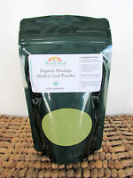 Organic Moringa Oleifera Leaf Powder 1 LB or 16 OZ (Pure & Natural) Free Ship