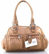 New Womens Lorenz Large Real Leather Weekend Shoulder Hobo Tote Handbag Work Bag