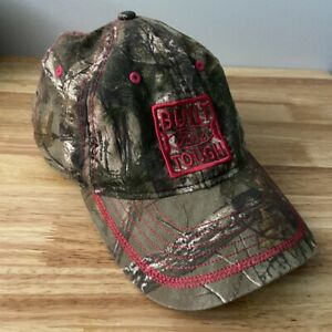Dri Duck Built Ford Tough RealTree Camo Camouflage Hat Pink Stitch Baseball Cap