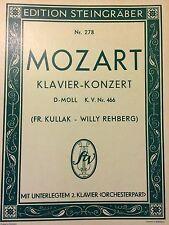 Mozart - Klavierkonzert D-Moll KV Nr. 466