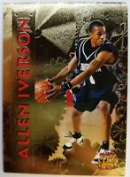 1996 96-97 Pacific Collection Allen Iverson Rookie RC Gold #PP20, Foil Insert