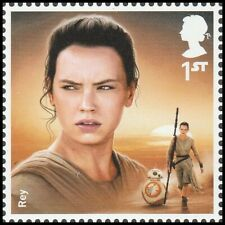 GB 3440 3763 Star Wars Rey single (1 stamp) MNH 2015