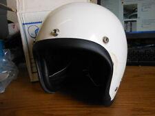 NOS Vintage NEW Vepo Elios Jet White Helmet Made in Italy 7 3/8 59CM Vespa