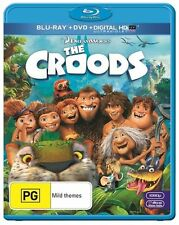 Croods The (DVD + Blu-ray + Digital, 2013, 2-Disc Set)