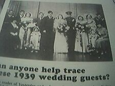ephemera 1989 picture reprint 1939 mr mrs burley taringa queensland