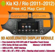 Android Multimedia Player for Kia Rio K3 2011-2012 DVD GPS Navigaiton Radio