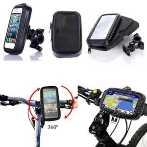 "Bike Bicycle Phone Holder Mount Stand Waterproof Case Bag For Phones 5""/5.5""/6.3"