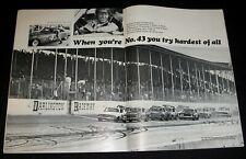 RICHARD PETTY 1968 DARLINGTON PICTORIAL STOCK CAR RACING NASCAR CHAMPION
