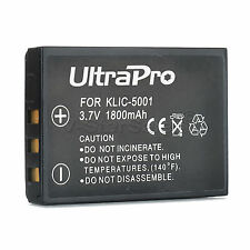 KLIC-5001 KLIC5001 Battery for Kodak EasyShare P850 P880 DX6490 DX7440