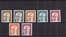 BERLIN 1972 Heinemann MiNr 427-433 @ kompletter Satz postfrisch **