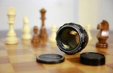 ⭐CRAZY SHARP!!!⭐US Seller!⭐Minolta MC 85mm f1.7 ROKKOR PF Portrait Lens