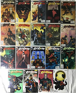 Lot of 19 DC Comics RED ROBIN BATMAN REBORN #1-19 NM Condition!