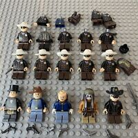 LEGO The Lone Ranger Minifigure Bundle Job Lot Spares Calvary Soldier Guns Tonto