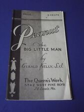PEANUT THE LITTLE BIG MAN - GERALD KELLY - 1946 - THE QUEEN'S WORK