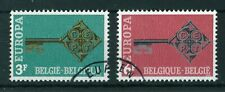 Belgium 1968 Europa full set of stamps. Used. Sg 2074-2075