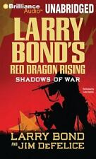 RED DRAGON RISING: SHADOWS OF WAR unabridged audio book on CD by LARRY BOND
