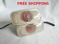 Nissan R34 Silvia S15 JDM OEM White Fender Lights side Markers Turn Signal Nismo