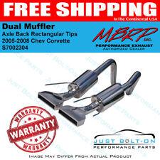 MBRP 2005-2008 Chev Corvette Dual Muffler Axle Back Rectangular Tips S7002304