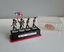 American lead toy soldiers, Alymer Miniploms 1:87 made in Spain 1960's