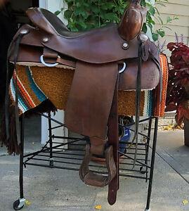 """Ortho-Flex Western saddle 16"""""""