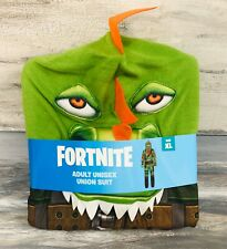 Fortnite Union Suit Costume Rex Unisex Adult Large XL Cosplay New