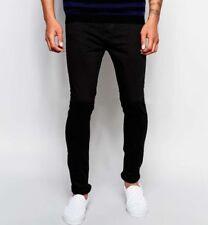 Jeans da uomo neri New Look Taglia 34