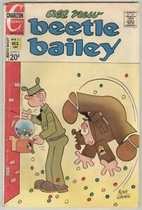 Beetle Bailey #95 December 1972 G/VG Gumball Cover