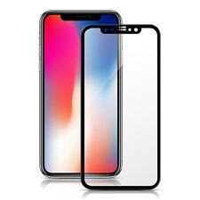 Apple iPhone Xs 3D Curved Glasfolie Panzerfolie FULL SCREEN Echt Hart Glas Folie