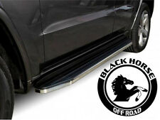 Black Horse FITS NISSAN FRONTIER EXT. CAB 2005-2017 Premium Running Boards