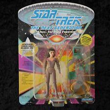 Star Trek The Next Generation Lieutenant Commander Deanna Troi.