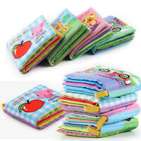 Intelligence Development Cloth Book Bed Cognize Baby Kid Early Educational Toy o