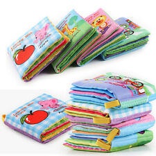 Intelligence Development Cloth Book Bed Cognize Kids Early Educational Toys/
