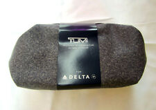 NEW Vintage Delta Airlines Business Class Gray Soft TUMI Amenity Kit Unsealed
