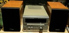 TEAC MC-D80 Home Theater Digital Compact CD Tuner Amplifier System Had Issues