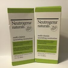 Neutrogena Naturals %~ Multi Vitamin Nourishing Moisturizer ~ 2 pack