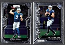 RC LOT (2) 2020 PANINI PRIZM JACOB EASON ASSORTED ROOKIE LOT HIGH GRADE RC'S