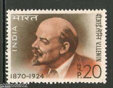 India 1970 V.I. Lenin USSR Leader Phila-509 1v MNH